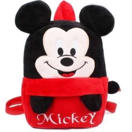 2Color 海外ブランド 人気   バックパック リュック キッズ ミッキーマウス ミニーマウス 可愛い ぬいぐるみ ぬいぐるみ旅行 お出かけバック ベビーバック