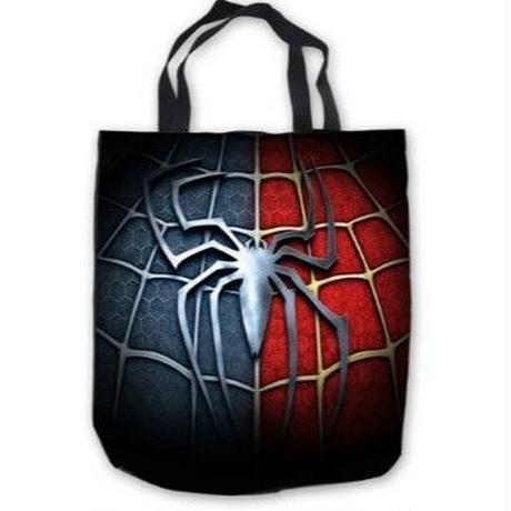 15Color 海外 ブランド 人気 キャンバスバック レディース メンズ トートバック スパイダーマン 蜘蛛 かっこいい ショッピングバック 大容量 スポーツ カジュアル A4