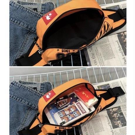 10Color 海外ブランド 人気  「ストリート 08 ウエストバック」 レディース 可愛い 安い カジュアル モード コーデ ストリート パンク ファニーパック おそろい  Bー1728
