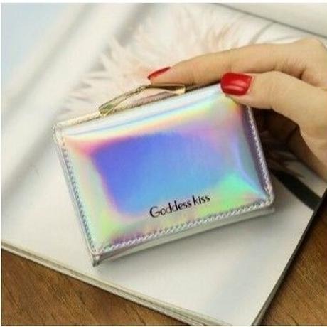 4Collar 海外 ブランド 人気  夏の可愛い 財布 おしゃれ 折りたたみ 可愛い 夏アイテム 折りたたみ シンプル キラキラ インスタ映え キレイな財布