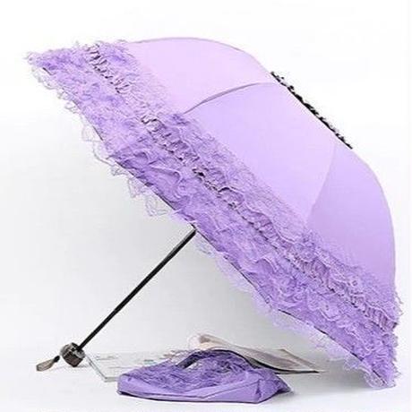 10Color 海外 ブランド 人気  レース 日傘 折りたたみ 傘 雨傘 可愛い レディース サイズ 女性用 ショッピング 直径  日焼け対策 ロリータ フェミニン 可愛い傘