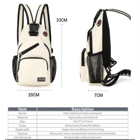 6Color 海外ブランド 人気  オシャレ カラフル クロスボディバッグ レディース カジュアル 使いやすい 斜め掛け 肩掛け リュック 通勤 旅行 バック B67