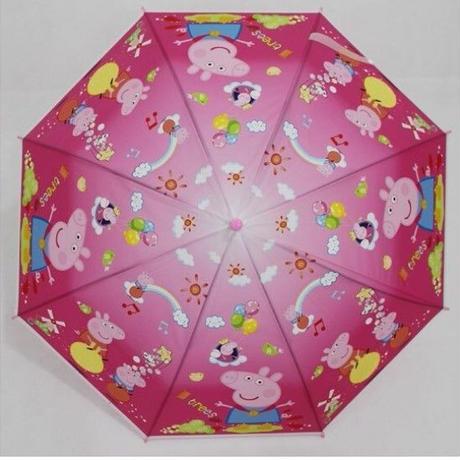 1Collar 海外 ブランド 人気  ぺっパピッグ キャラクター 傘 キッズ 可愛い 安い シンプル お出かけ 旅行 通学 ディズニー マーベル プリンセス おしゃれ 子供 プレゼント