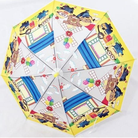 1Collar 海外 ブランド 人気  ミニオン キャラクター 傘 キッズ 可愛い 安い シンプル お出かけ 旅行 通学 ディズニー マーベル プリンセス おしゃれ 子供 プレゼント