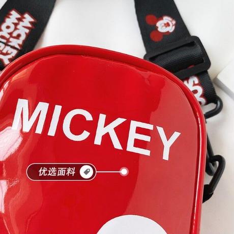 5Color 海外ブランド 人気  オシャレ 可愛い ミッキーマウス ショルダーバッグ キッズ 習い事 お出掛け 通学 旅行 ミニ バック ディズニー ミッキー B1187
