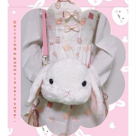 海外 ブランド 人気 ウサギ ショルダーバック ぬいぐるみ レディースバック ぽてうさ 可愛い ロリータ シンプル ぬいぐるみ シンプル おしゃれ 安い 使いやすい