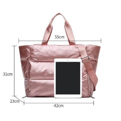 3Color 海外ブランド 人気 使いやすい  シンプル 大容量バッグ ポケット沢山 レディース 通勤 通学 旅行 ナイロン トート ショルダー カジュアル バック ママバッグ B 2214