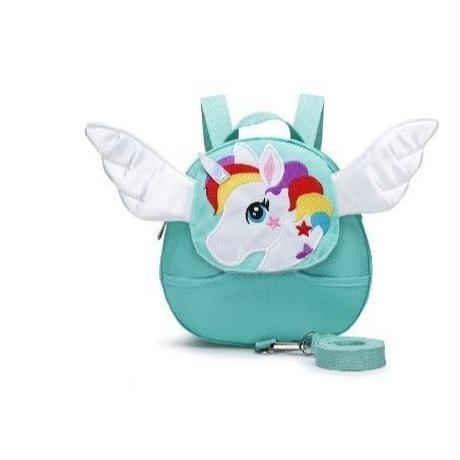 2Collar 海外 ブランド 人気  バックパック キッズ バック リュック 女の子 ユニコーン 可愛い 羽 軽量 防水 通気性 子供 公園 お出かけ 旅行
