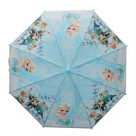 1Collar 海外 ブランド 人気  アナ雪 オラフ キャラクター 傘 キッズ 可愛い 安い シンプル お出かけ 旅行 通学 ディズニー プリンセス おしゃれ 子供 プレゼント