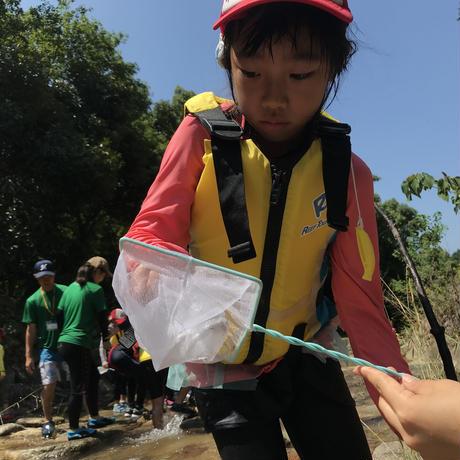 7月 川探検に出かけよう アドバンス単発参加【小3〜小4】