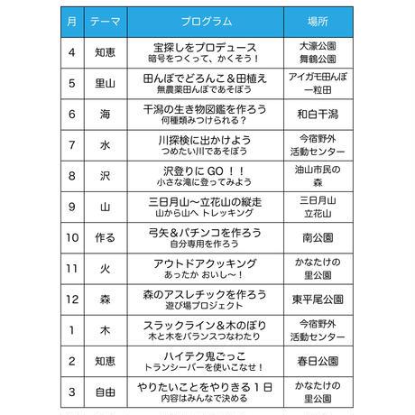 8月 沢登りへGO!|アドバンス単発参加【小3〜小4】