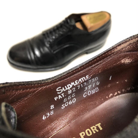 Foot So Port Supreme キャップトゥ