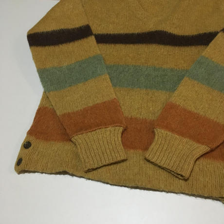 Vintage Mohair V neck Sweater