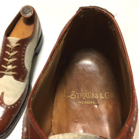 Nettleton Individuals Spectator Shoes 1940s〜1950s