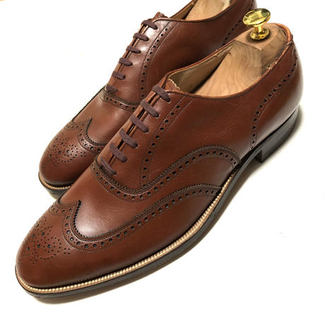 Freeman Full Brogue Vintage Shoes Dead Stock