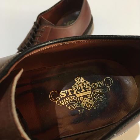 ステットソン プレーントゥ ブラウン Stetson