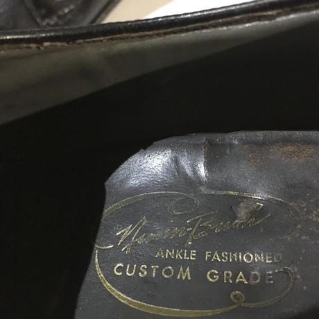 ナンブッシュ アンクル ファッションド カスタム グレード Nunn Bush