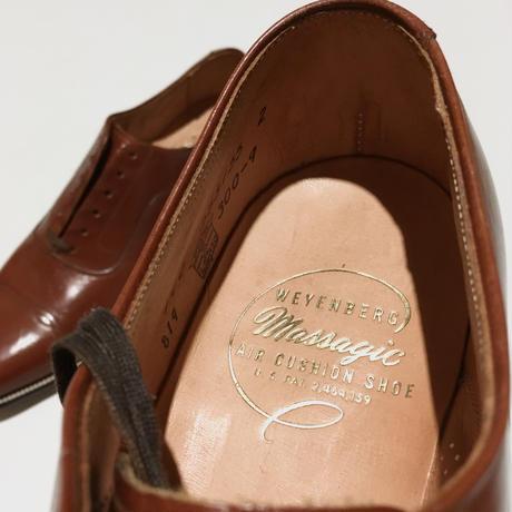 ウェインバーグ ストレートチップ ブラウンWEYENBERG Massagic Air Cushion Shoe Dead Stock