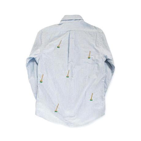 Badmind Cleaners POLO stripe shirt