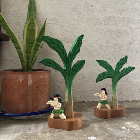 Japanese Banana Wood Stand