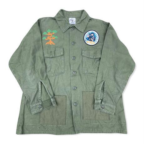 KARATE 70s US Army Cotton Utility remake JKT