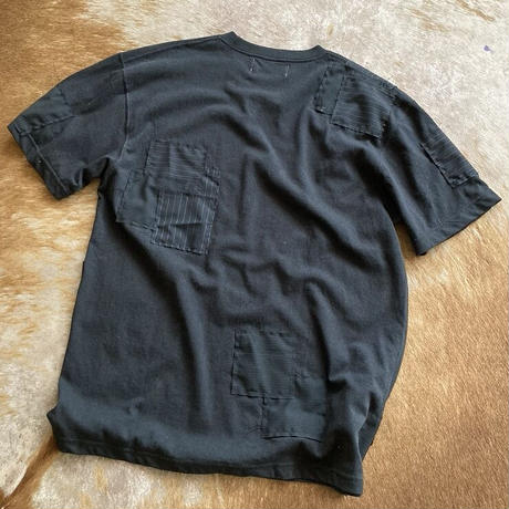 Front and Back patchwork Tee