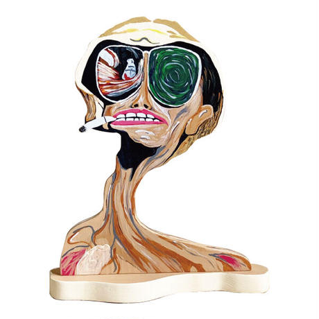 Fear and Loathing in Las Vegas Wood Stand