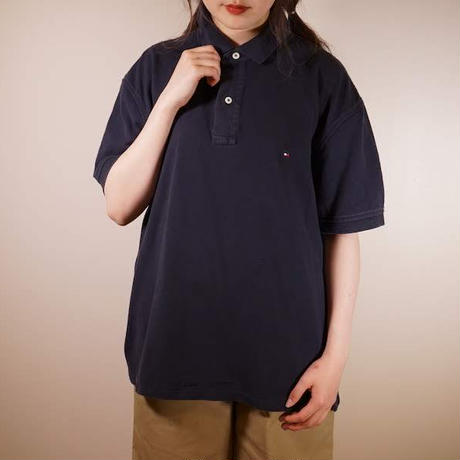 TOMMY HILFIGER(トミーヒルフィガー)ポロシャツ[317]
