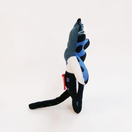 【COVID-19】ヤマネコノマスク/ 18cmタイプ01【送料300円】