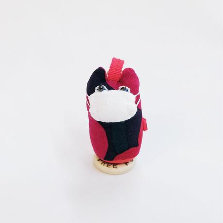 【COVID-19】ヤマネコノマスク/ 弾丸ストラップ・キーホルダーC【送料300円】