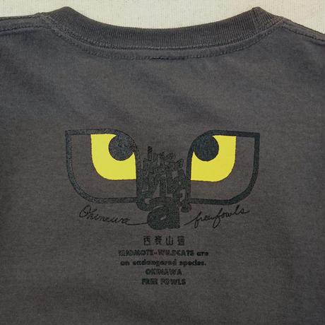 西表山猫 Night & Day Tシャツ【Night】/ダークグレー