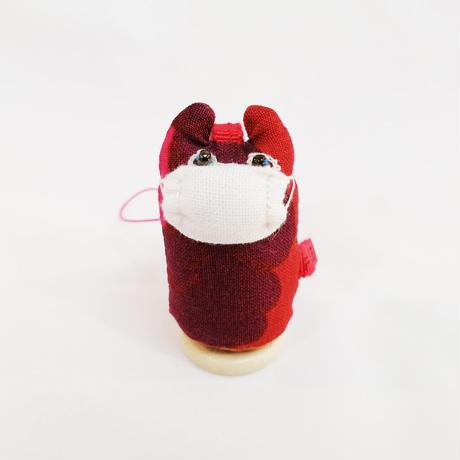 【COVID-19】ヤマネコノマスク/ 弾丸ストラップ・キーホルダーe【送料300円】