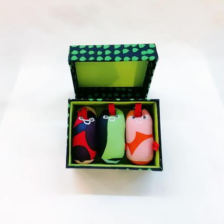 「三福猫」イリオモテヤマネコ & コレクション BOX /Aタイプ【送料無料】