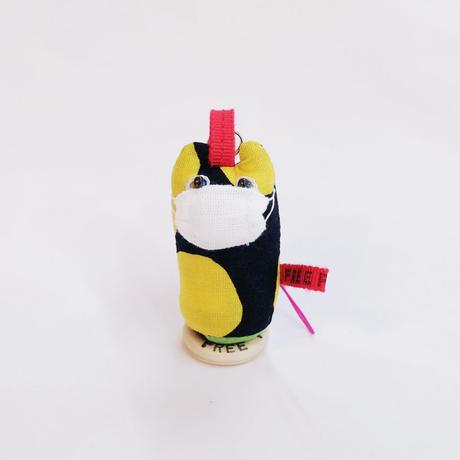 【COVID-19】ヤマネコノマスク/ 弾丸ストラップ・キーホルダーB【送料300円】
