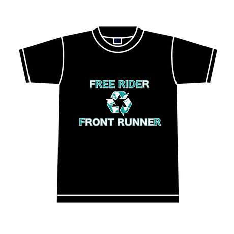 金本幸洋オリジナルデザインTシャツ  /  BLACK / 送料込み