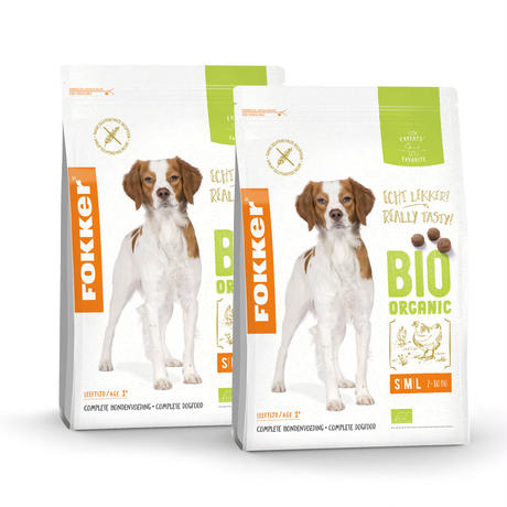 【まとめ買い・2個セット】フォッカービオドッグ(成犬用)無添加オーガニックドッグフード 2.5kg