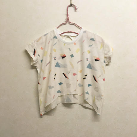 bedsidedrama × frankygrow エニーピースキッズTシャツ(WHITE)