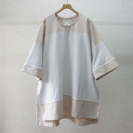 BALMUNG バックフラップビッグTシャツ(ベージュ)