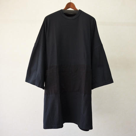STORAMA BIG APRON T ONE-PIECE(BLACK・M)