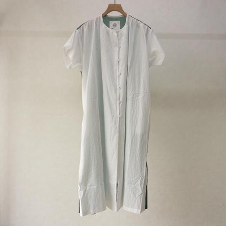 bedsidedrama 境界配色ワンピース(white)
