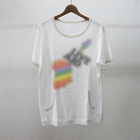 gilet カンガルーポケットTシャツ(ベージュ)