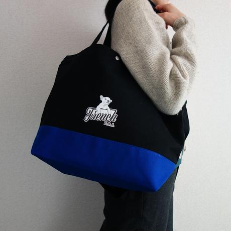 《税込》お出かけトートバッグ -  Black&Blue D#Future