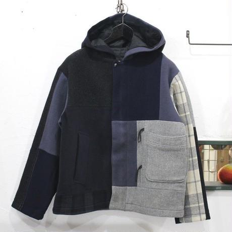 Patch Work Coat①