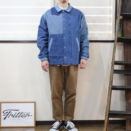 Denim Coach Jacket⑤/フリーサイズ