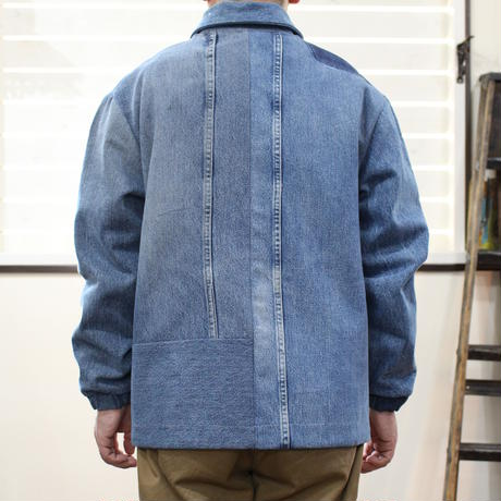 Denim Coach Jacket⑥/フリーサイズ