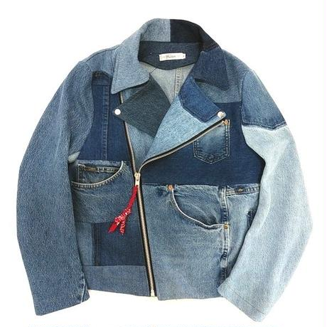 Denim Riders Jacket②/サイズM/ブルー