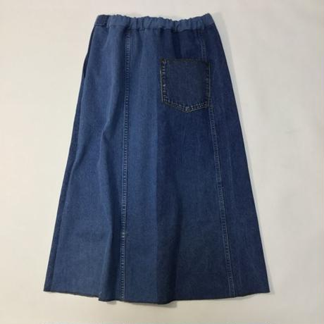 Denim Long Skirt⑤/フリーサイズ