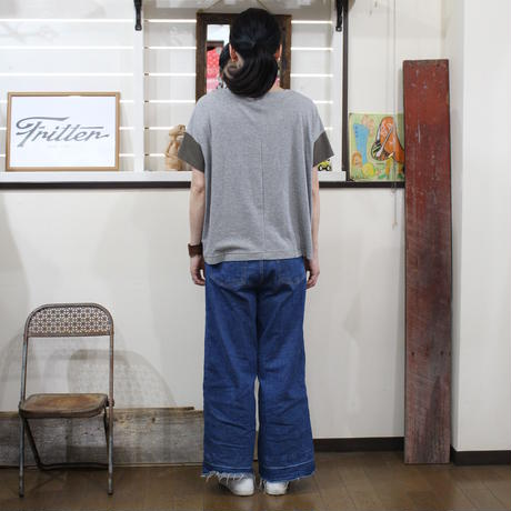Patchwork Tee-Shirts ⑨/サイズフリー