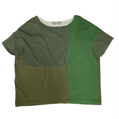 Patchwork Tee-Shirts ②/サイズフリー