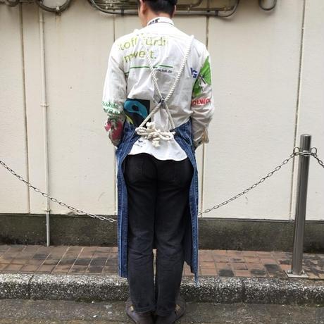Denim Koshiobi Apron②